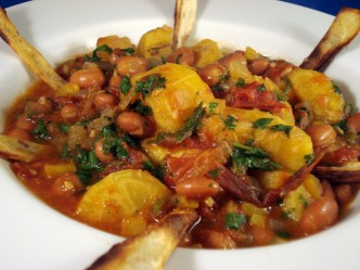vegan multi-vegetable stew